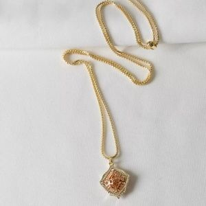 Kendra Scott Kacey Long Pendant Necklace